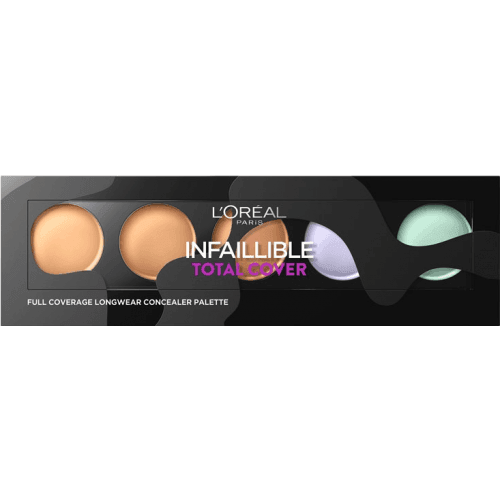 L´Oreal Makeup Paleta correctora infalible total cover
