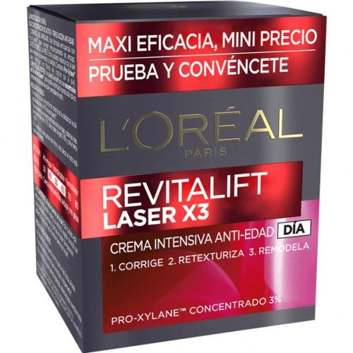 L´Oreal Makeup Crema Intensiva Antiedad Día Revitalift Laser X3