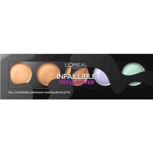 L´Oreal Makeup Paleta Correctora Infalible Total Cover