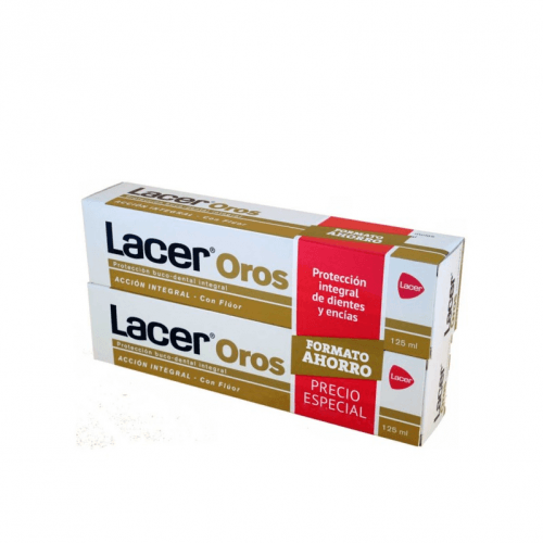 Lacer Duplo Lacer Oros Pasta Dentífrica