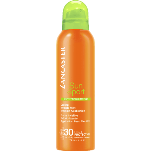 Lancaster Sun sport cooling invisible mist spf30