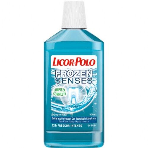 Licor Del Polo Enjuague Bucal Frozen Senses