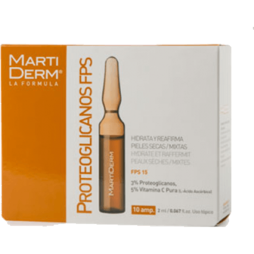 Martidermamp Ampollas proteoglicanos spf-15 lifting anti-edad
