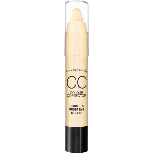 Max Factor Cc stick amarillo, el revitalizador