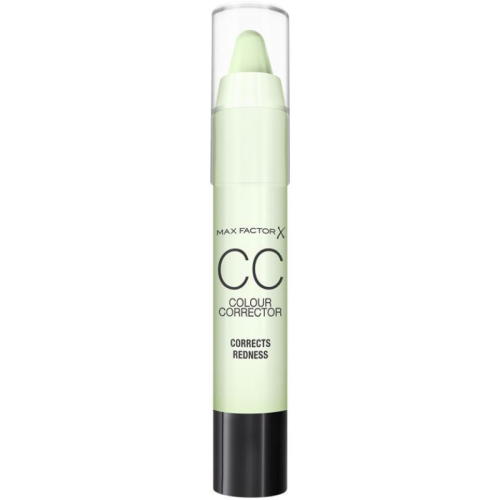 Max Factor Cc stick verde, el reductor