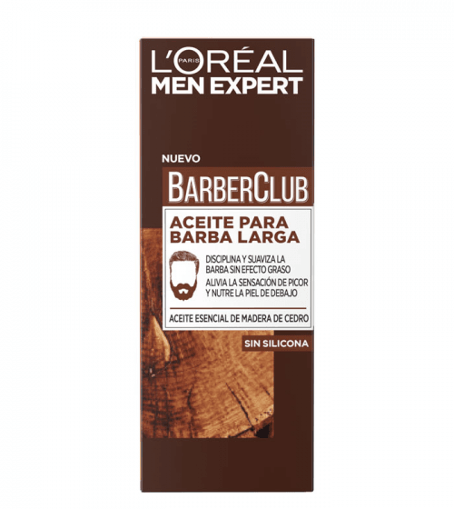 Men Expert Aceite Barba Larga L'Oreal Men Expert
