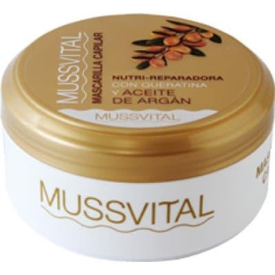 Mussvital Mascarilla capilar argán y queratina