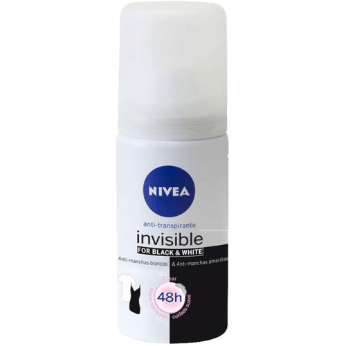Nivea Desodorante spray black &white invisible