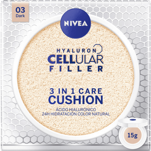 Nivea Hyaluron Cellular Filler Color 3 en 1 Dark