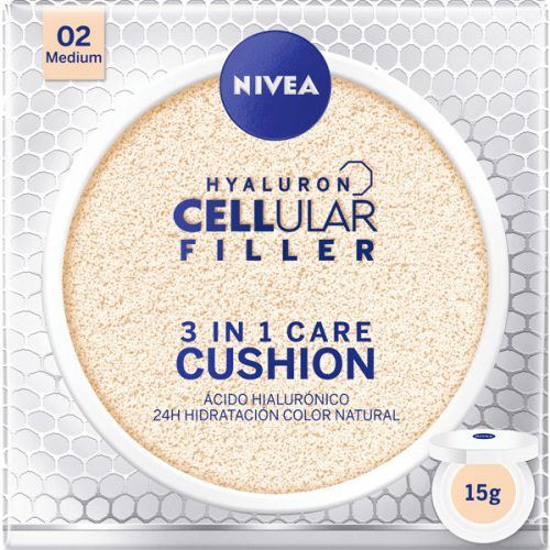 Nivea Hyaluron Cellular Filler Color 3 en 1 Medium