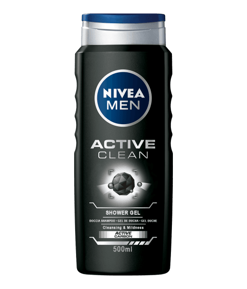 Nivea Gel de Ducha Nivea Men Active Clean