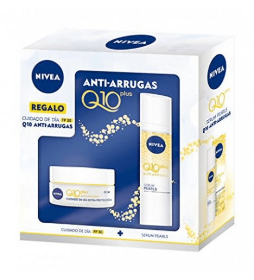 Nivea Pack Anti Arrugas Día Y Serum Q10 Plus