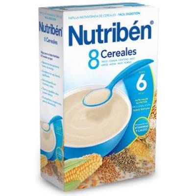 Nutriben Papilla 8 cereales