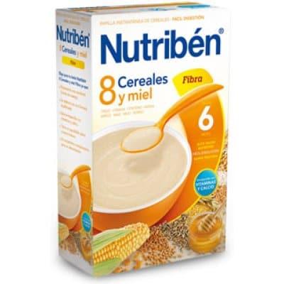 Nutriben Nutriben papilla 8 cereales y miel fibra