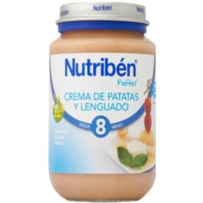 Nutriben Nutriben potito crema de patatas con lenguado