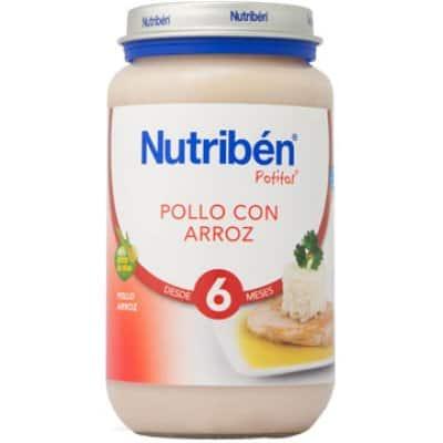 Nutriben Nutriben potito pollo con arroz