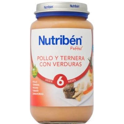 Nutriben Nutriben potito pollo y ternera con verduras