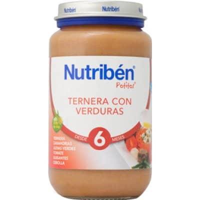 Nutriben Nutriben potito ternera con verduras