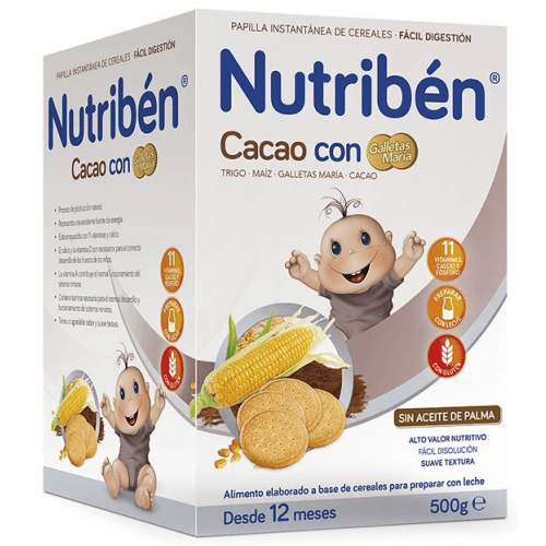 Nutriben Nutriben cacao con galletas maria
