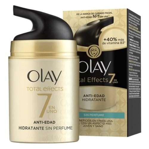 Olay Total Effects Anti Edad Hidratante de Día Sin Perfume