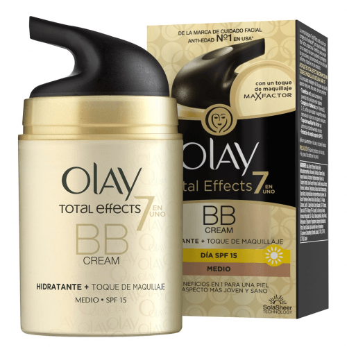 Olay Total Effects BB Cream Toque Maquillaje Tono Medio 50 ML