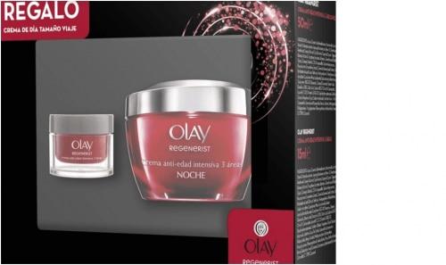 Olay Pack Olay Regenerist 3 Áreas Crema Noche Más Crema Mini Viaje