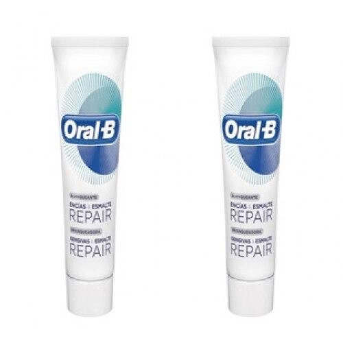 Oral-b Duplo Pasta Dental Encías Y Esmalte Repair Blanqueante
