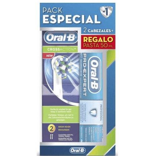 Oral-b Recambio Cepillo Cross Action