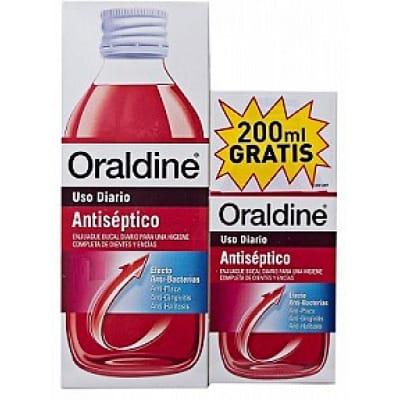 Oraldine Oraldine colutorio bucal antiséptico