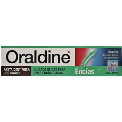 Oraldine Oraldine pasta dental encías sensibles menta