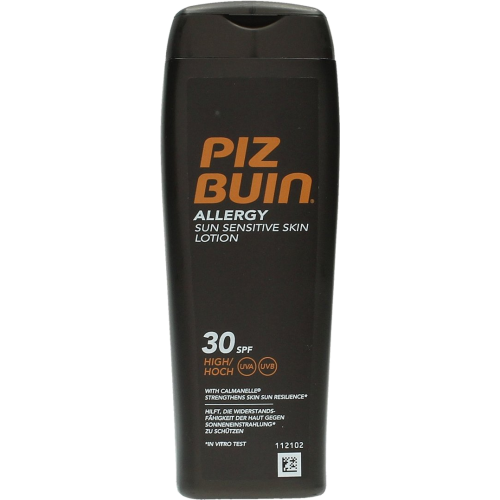 piz buin allergy sun sensitive skin lotion spf30