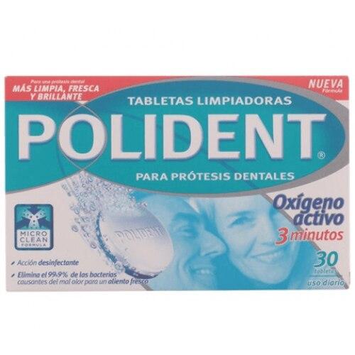Polident Tabletas Limpiadoras Doble Accion
