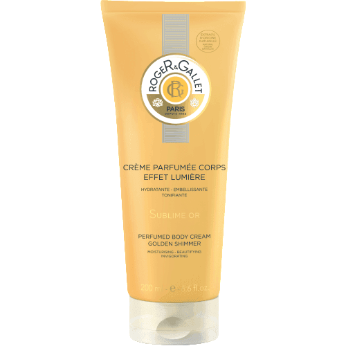 Roger Gallet Bois d orange crema corporal sublime or
