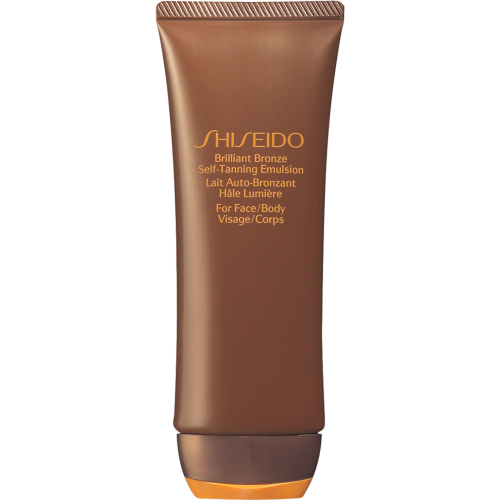 Shiseido Suncare brilliant bronze self-tanning emulsion