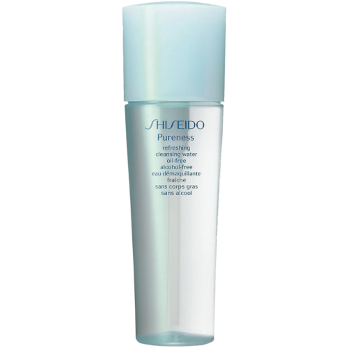 Shiseido Pureness refreshing cleansing water oil-free alcohol-free