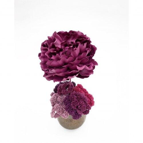 Regalo Sisley Jarrón con rosa de Bornay