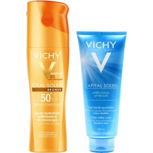 Vichy Vichy pack spray spf50 + after sun
