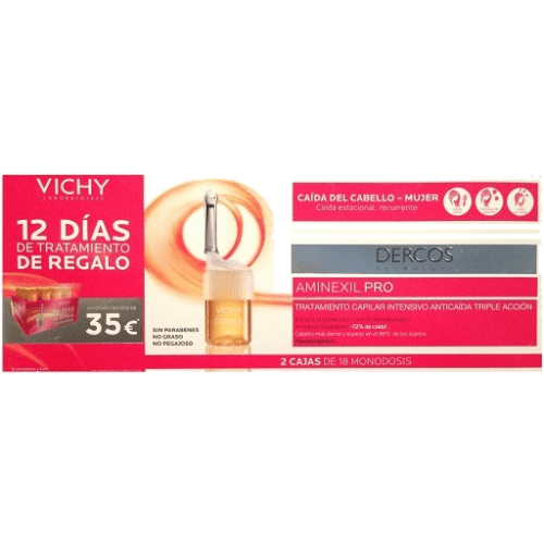 Vichy Pack Vichy Dercos Aminexil Clinical Mujer
