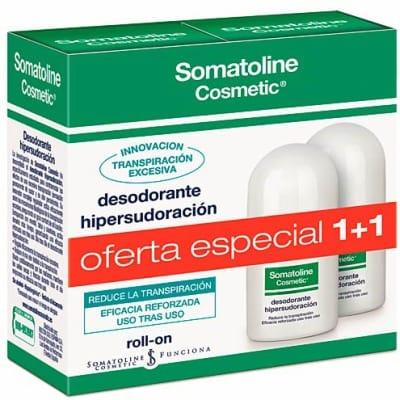 Somatoline Desodorante hipersudoración roll-on