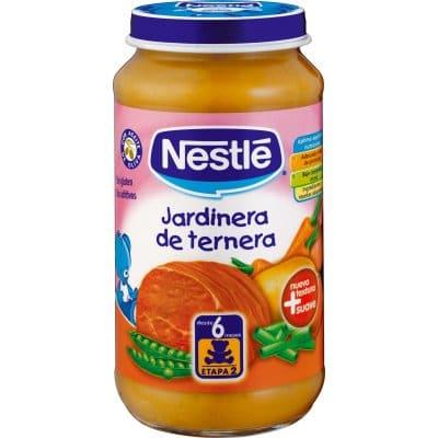 Nestle Tarrito jardinera de ternera