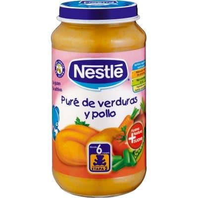 Nestle Tarrito pure de verduras con pollo