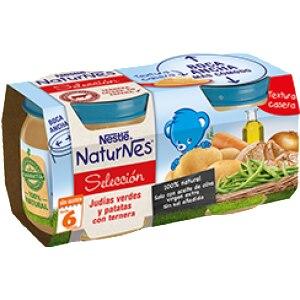 Nestle Nestle naturnes judias, patata, y ternera