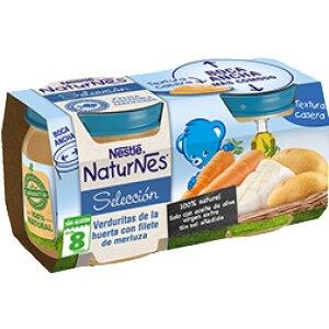 Nestle Pack nestle naturner potito pure verduras merluza