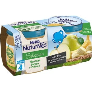 Nestle Nestle naturnes manzana golden y platano