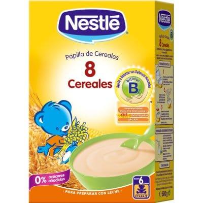 Nestle Papilla 8 cereales con bífidus