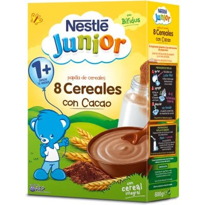 Nestle Papilla 8 cereales al cacao