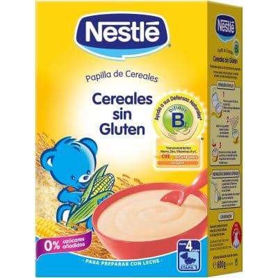 Nestle Papilla cereales sin gluten nestle