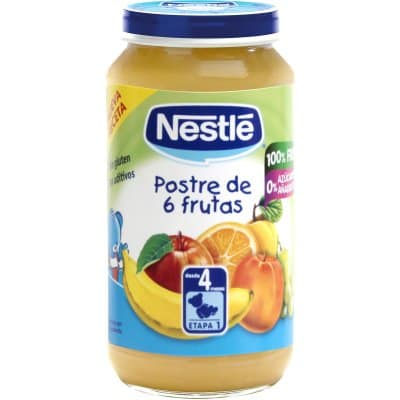 Nestle Nestle postre 6 frutas