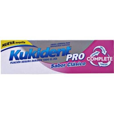 Kukident Crema adhesiva sabor clásico