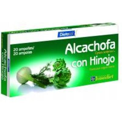 Ynsadiet Complemento alimenticio alcachofa con hinojo
